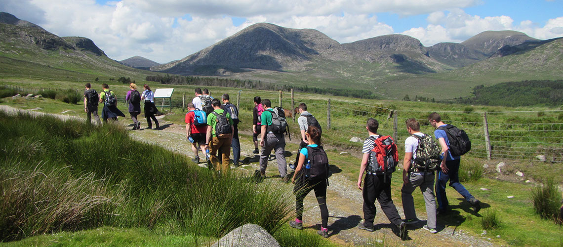 Corporate & Gaisce Groups hiking