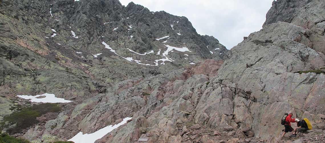 GR 20 Corsica, hiking holiday