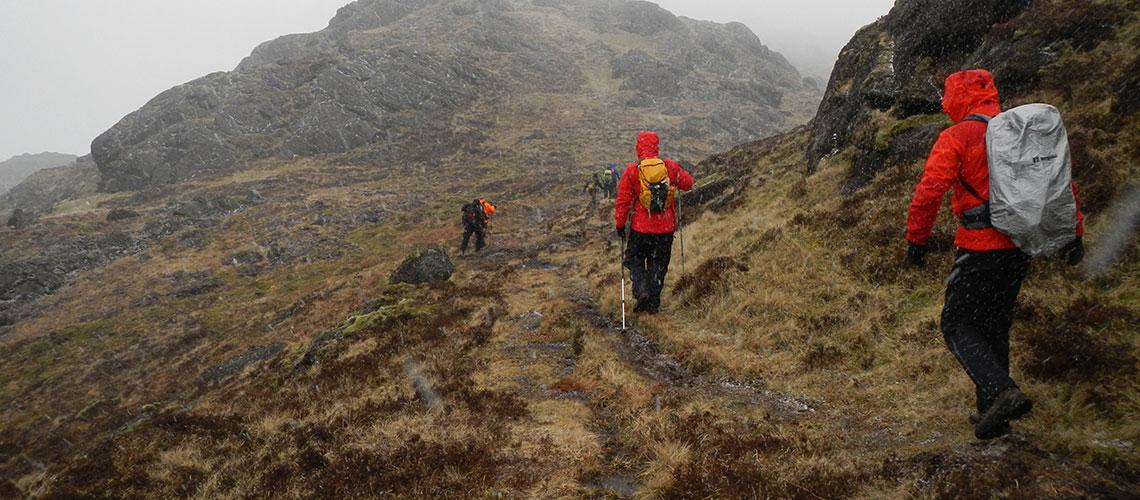 Mountain skills assessment